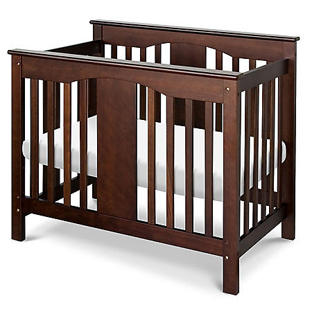DaVinci Annabelle 2-in-1 Mini Crib and Twin Bed (Choose Your Color)