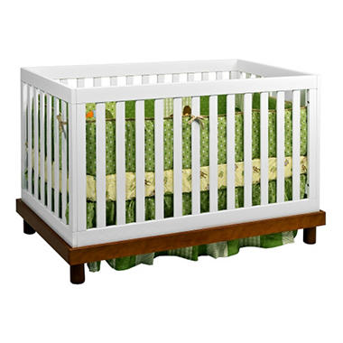 Baby Mod Olivia 3 In 1 Convertible Crib With Toddler Bed