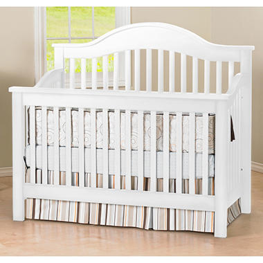 collection white club baby french cribs sams savannah with pin infant furntiure pc