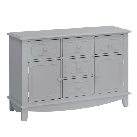 MDB Classic Sullivan Double-Wide Dresser, Grey