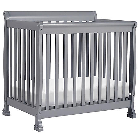 DaVinci Kalani 2-in-1 Convertible Mini Crib (Choose Your Color)