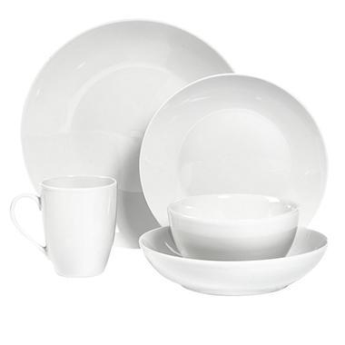 Tabletops Gallery 10-Piece Round White Dinnerware Set - Sam\'s Club