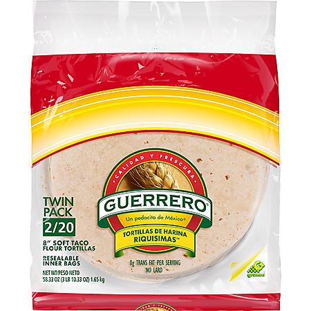 Guerrero Soft Taco Flour Tortillas (40 ct.)