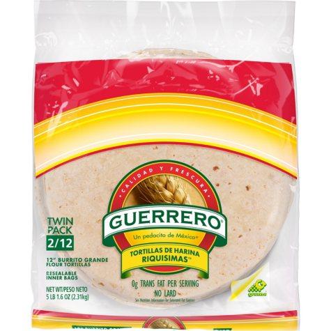 Guerrero Riquisimas Flour Tortillas (5 lb., 2 pk.)