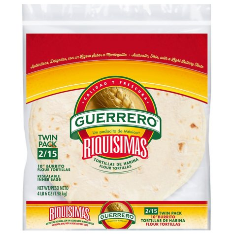 Guerrero 10 in. Burrito Flour Tortillas (15 ct., 2 pk.)