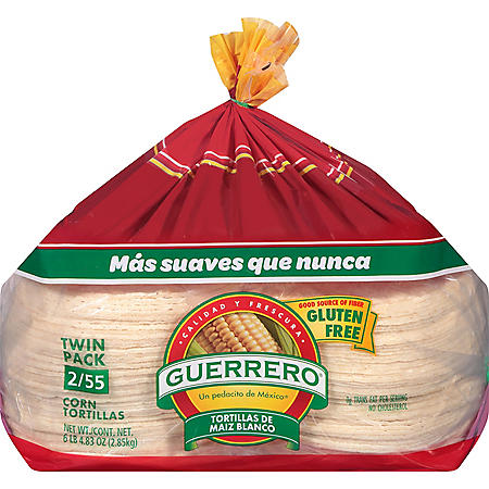 Guerrero White Corn Tortillas (110 ct.)