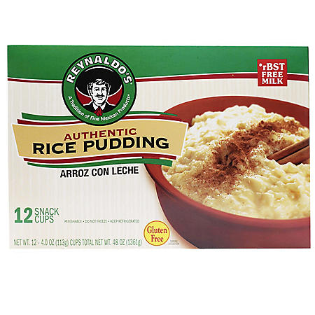 Reynaldo's Rice Pudding (4 oz., 12 pk.)