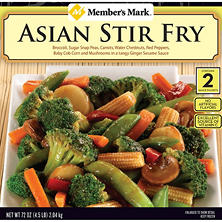 Member's Mark Asian Stir Fry (4 lb. 8 oz.)