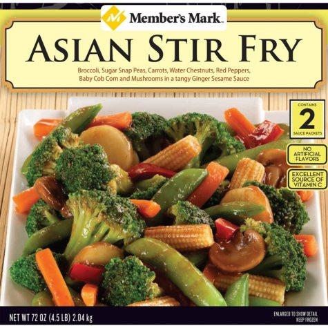 Member's Mark Asian Stir Fry (4 lb. 8 oz.)