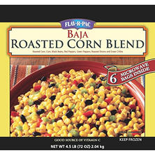 Flav-R-Pac Baja Roasted Vegetables Corn Blend - 4.5 lbs.