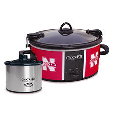 Crock-Pot NCAA Cook and Carry Slow Cooker, 6 Qt. (Nebraska Cornhuskers)