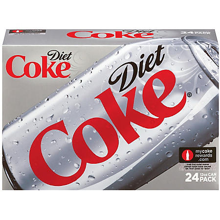 Diet Coke (12 oz. cans, 24 pk.)