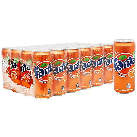 Fanta Orange (12oz / 24pk)