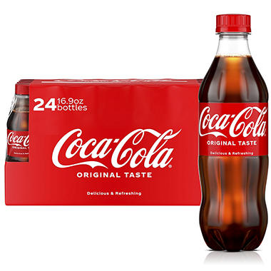 Coca-Cola (16.9 fl. oz. bottles, 24 pk.) - Sam\'s Club