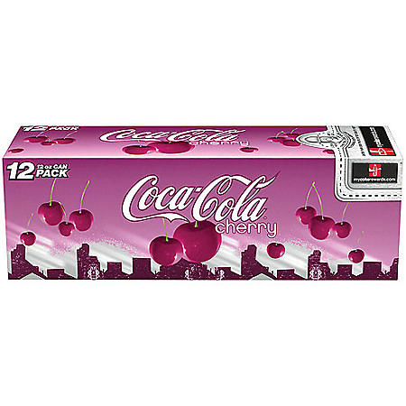 Coca-Cola Cherry - 12 oz. cans - 12 pk.