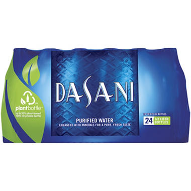 Dasani Purified Water (16.9 oz. bottles, 24 pk.)