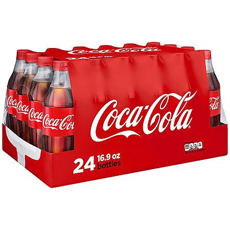 COKE 24 / 16.9 OZ BOTTLES