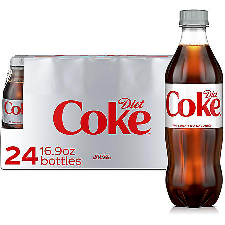 Diet Coke (16.9 fl. oz. bottles, 24 pk.)