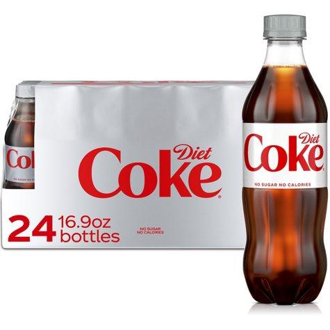 Diet Coke (16.9 fl. oz. bottles, 24 pk.)