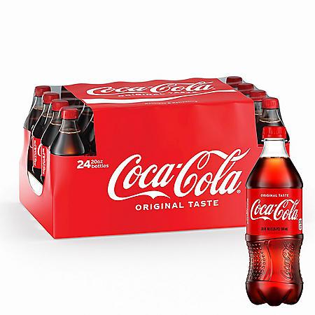 Coca-Cola (20 oz. bottles, 24 pk.)