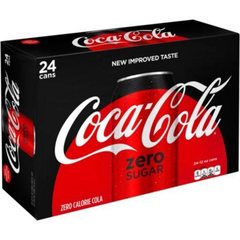 Coke Zero Sugar (12 oz. cans, 24 pk.)