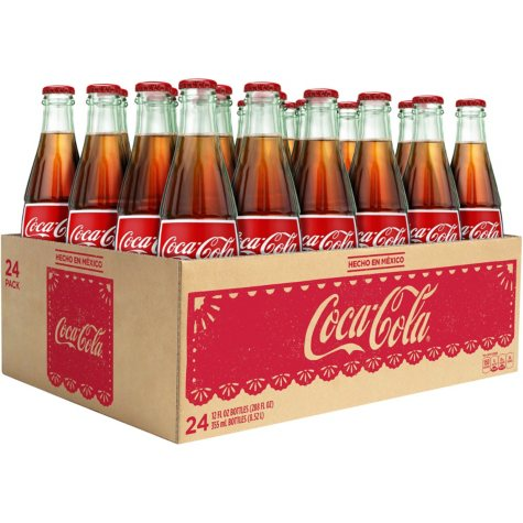 COKE DE MEXICO 24/355ML GLASS
