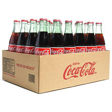 Coca Cola de Mexico (500 ml glass bottles, 24 pk.)