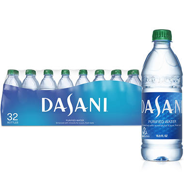 Dasani Bottled Water (16.9 oz. PET bottles, 32 pk.)