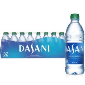 Dasani Purified Bottled Water (16.9 oz., 32 pk.)