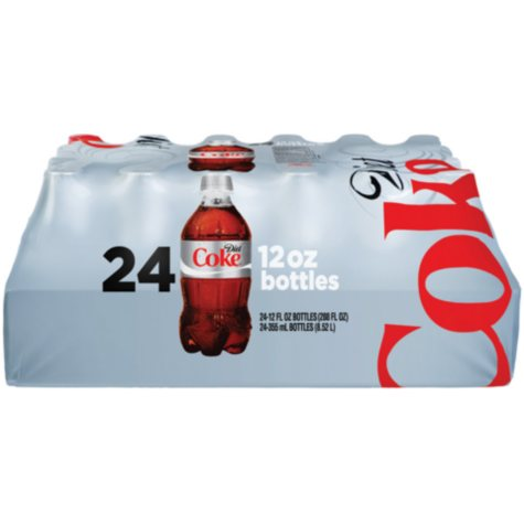 Diet Coke (12 oz. bottles, 24 pk.)