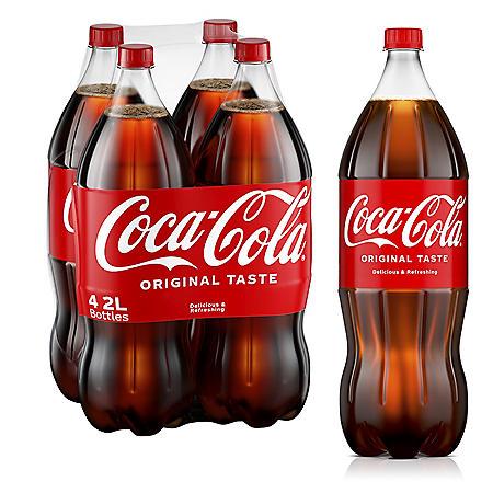 Coca-Cola (2L / 4pk)