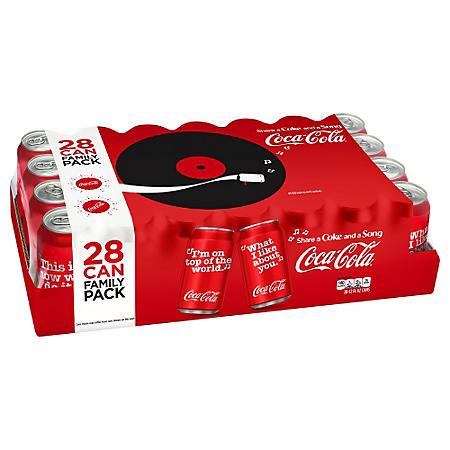 Coke (12 oz. cans, 28 pk.)