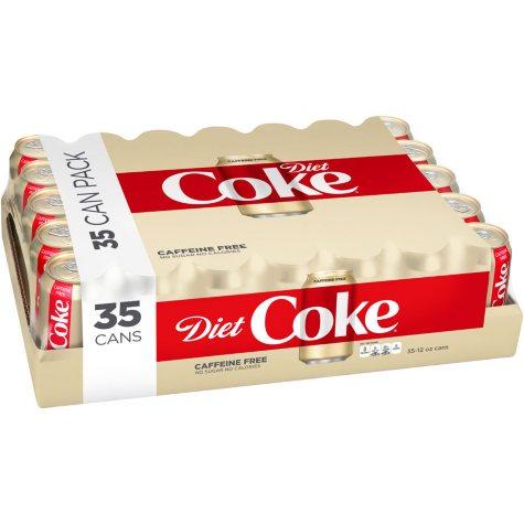 Diet Coke, Caffeine Free (12 oz. cans, 35 pk.)