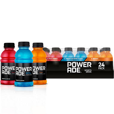 Powerade Sports Drink Variety Pack (12 oz. bottles, 24 ct.)