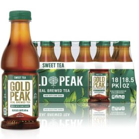 Gold Peak Sweet Tea (18.5 fl. oz. bottles, 18 pk.)