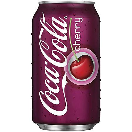 CHERRY COKE 24 / 12 OZ CANS