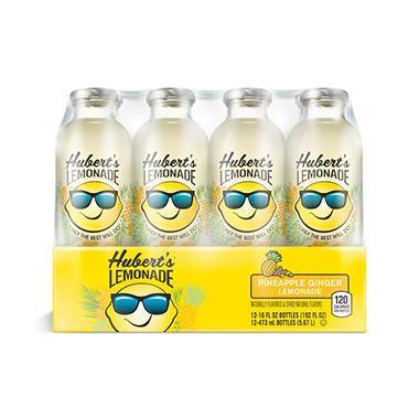 Hubert's Pineapple Ginger Lemonade (16 oz., 12 ct.)