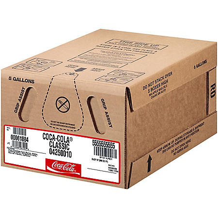 Coca-Cola Bag-In Box Fountain Syrup (5 gal.)