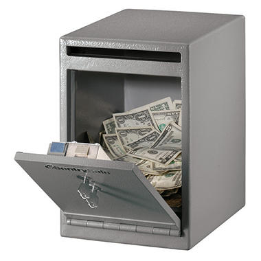 SentrySafe - Under Counter Safe - .4 Cubic Feet