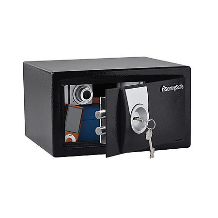 SentrySafe - Security Safe, Key Lock - .3 Cubic Feet