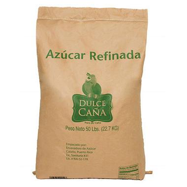 Domino Extra Fine Granulated Sugar 50 Lb