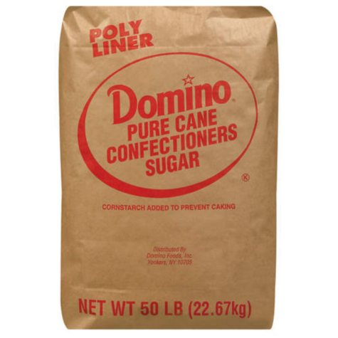 Domino Powdered Sugar - 50 lbs.
