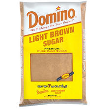 Domino Light Brown Pure Cane Sugar - 7 lb.