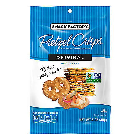Snack Factory Original Pretzel Crisps (3 oz., 8 ct.)