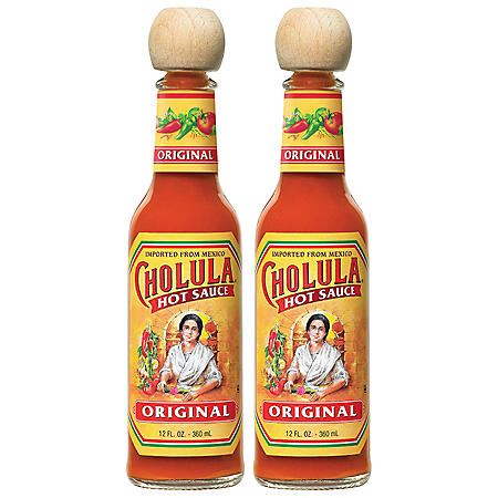 Cholula Hot Sauce (12 oz. bottles, 2 pk.)
