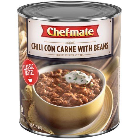Chef-Mate Chili With Beans - 107 oz.