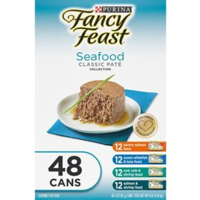 Fancy Feast Collection Variety Pack - Choose Your Flavor (3 oz., 48 ct.)