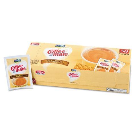 Nestle Coffee-mate Original Powdered Creamer (3g packet, 50 ct.)