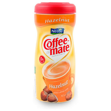 Nestle Coffee-mate Powdered Creamer, Hazelnut (15 oz.)
