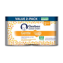 Gerber Good Start Gentle Non-GMO Infant Formula with Iron (25 oz., 2 pk.)